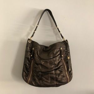 Cole Haan Bronze Leather Bag